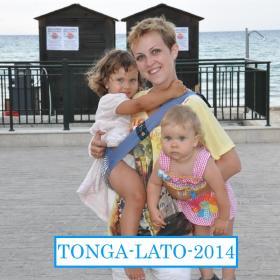 Nosidełko Tonga kolor niebieski - paula 1