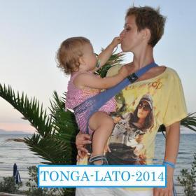 Nosidełko Tonga kolor niebieski - paula 2